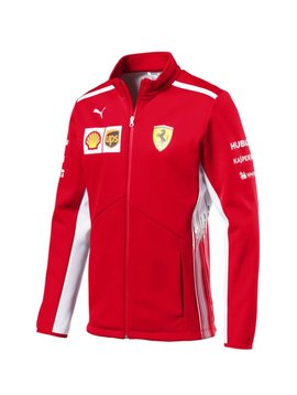 Ferrari Mens Team Softshell Jacket 2018