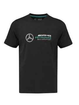 Mercedes Kids Logo Tee - Black