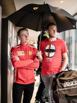 Ferrari Large Umbrella