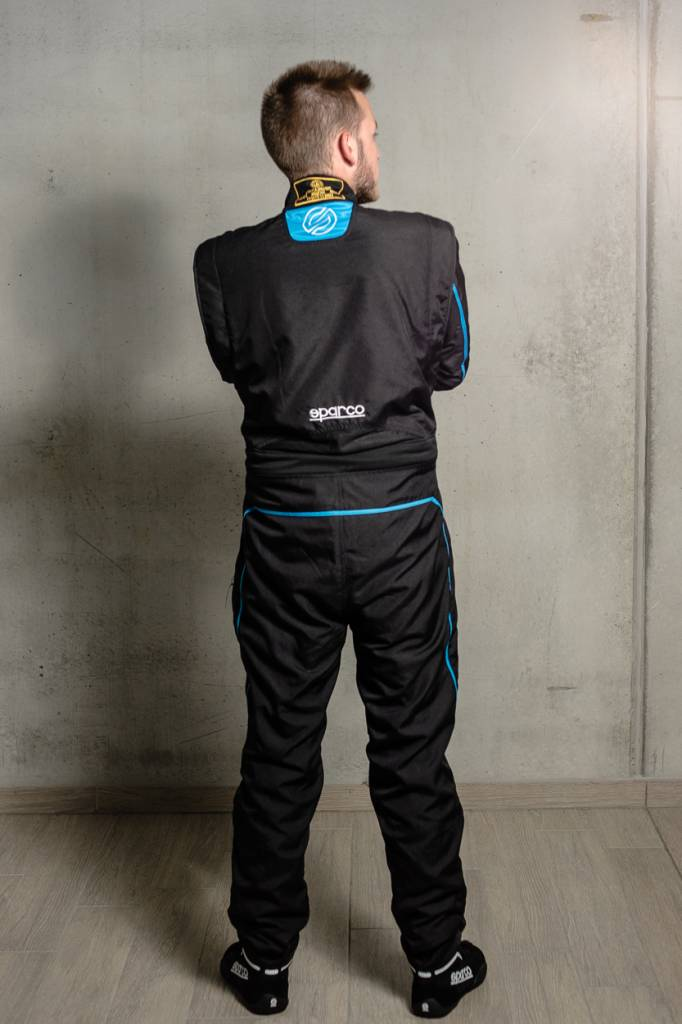 Sparco Groove KS-3 Zwart Blauw