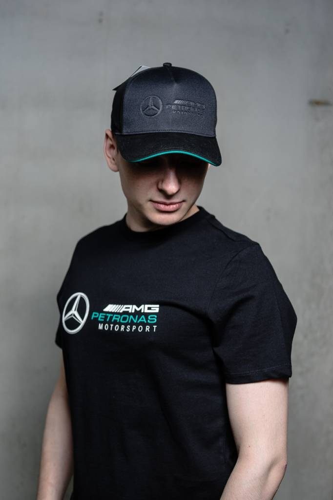 Mercedes Mercedes Logo Cap - Zwart