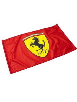 Ferrari Flagge mit Stange  90x60