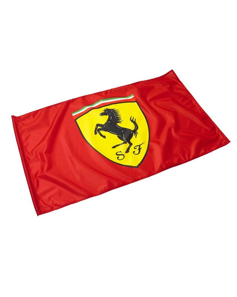 Ferrari Scuderia Ferrari drapeau avec hampe 90x60