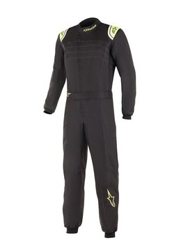 Alpinestars KMX-9 V2 Black Yellow Fluo