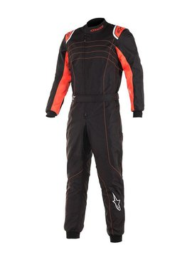 Alpinestars KMX-9 V2 Junior Black Red Fluo