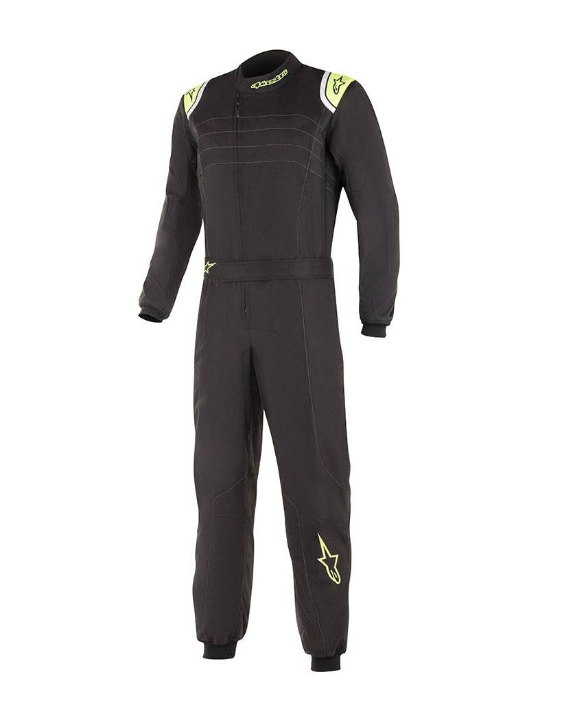 Alpinestars KMX-9 V2 Junior Black Yellow Fluo