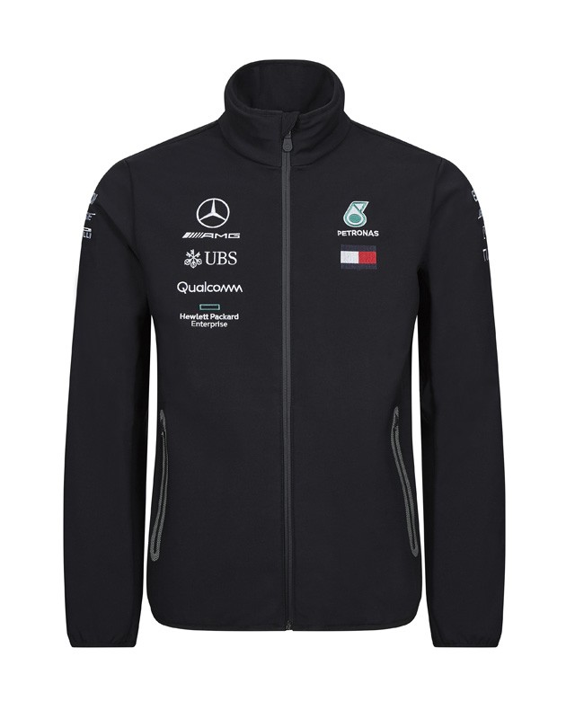 Mercedes  Mercedes-AMG Petronas Motorsport 2019 F1™ Team Softshell Jacket