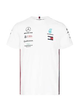 Mercedes Mens Driver Tee 2019 - Weiss