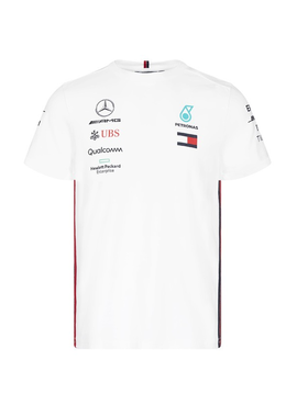 Mercedes Kids Driver Tee 2019 - Wit