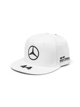 Mercedes Drivers Cap Hamilton (Flat) 2019 - Wit