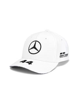 Mercedes Drivers Cap Hamilton (Baseball) 2019 - Weiss