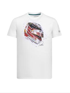 Mercedes Mens Lewis Helmet Tee 2019