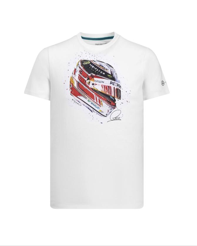 Mercedes Official 2019 F1™ Lewis Hamilton Helmet T-Shirt