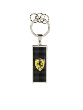 Ferrari Metal Logo Keyring