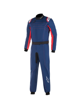 Alpinestars KMX-9 V2 Junior Navy Blauw Rood Wit