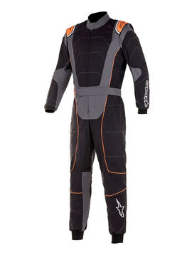 Alpinestars KMX-3 Schwarz Anthrazit Fluo Orange