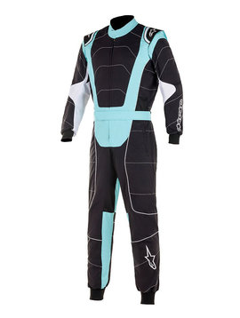 Alpinestars KMX-3 Junior Black Turquoise
