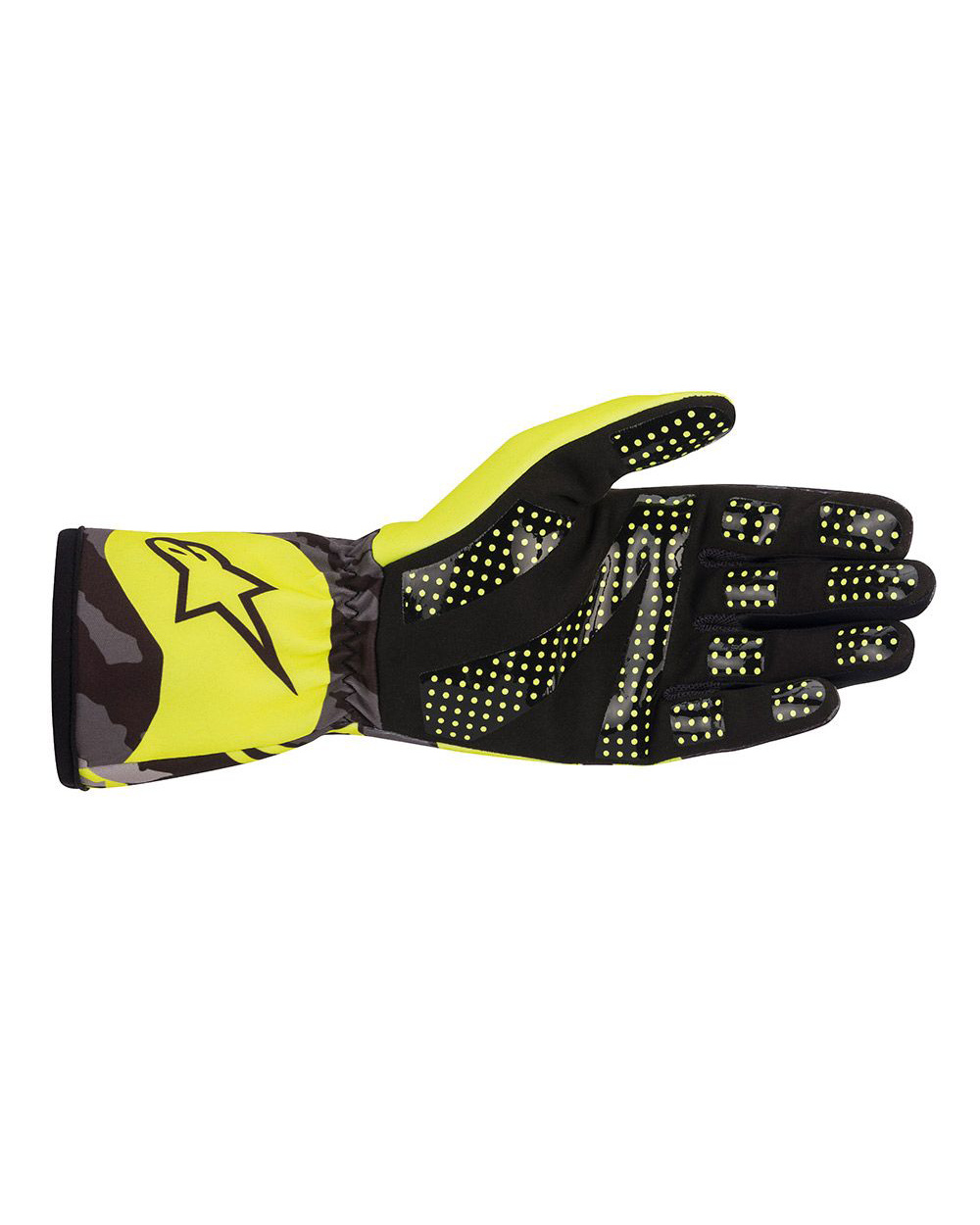 Alpinestars Tech-1K Race V2 Camo Yellow Fluo Black