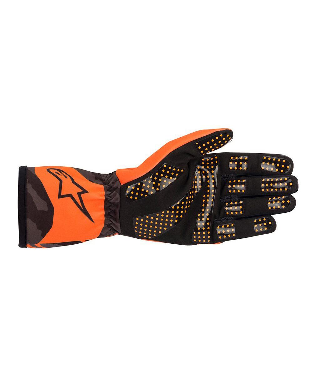 Alpinestars Tech-1K Race V2 Camo Orange Fluo Black