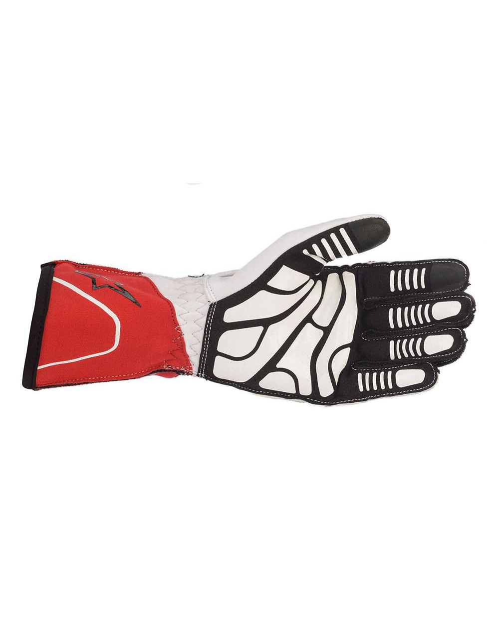 Alpinestars Tech-1KX V2 White Red Black