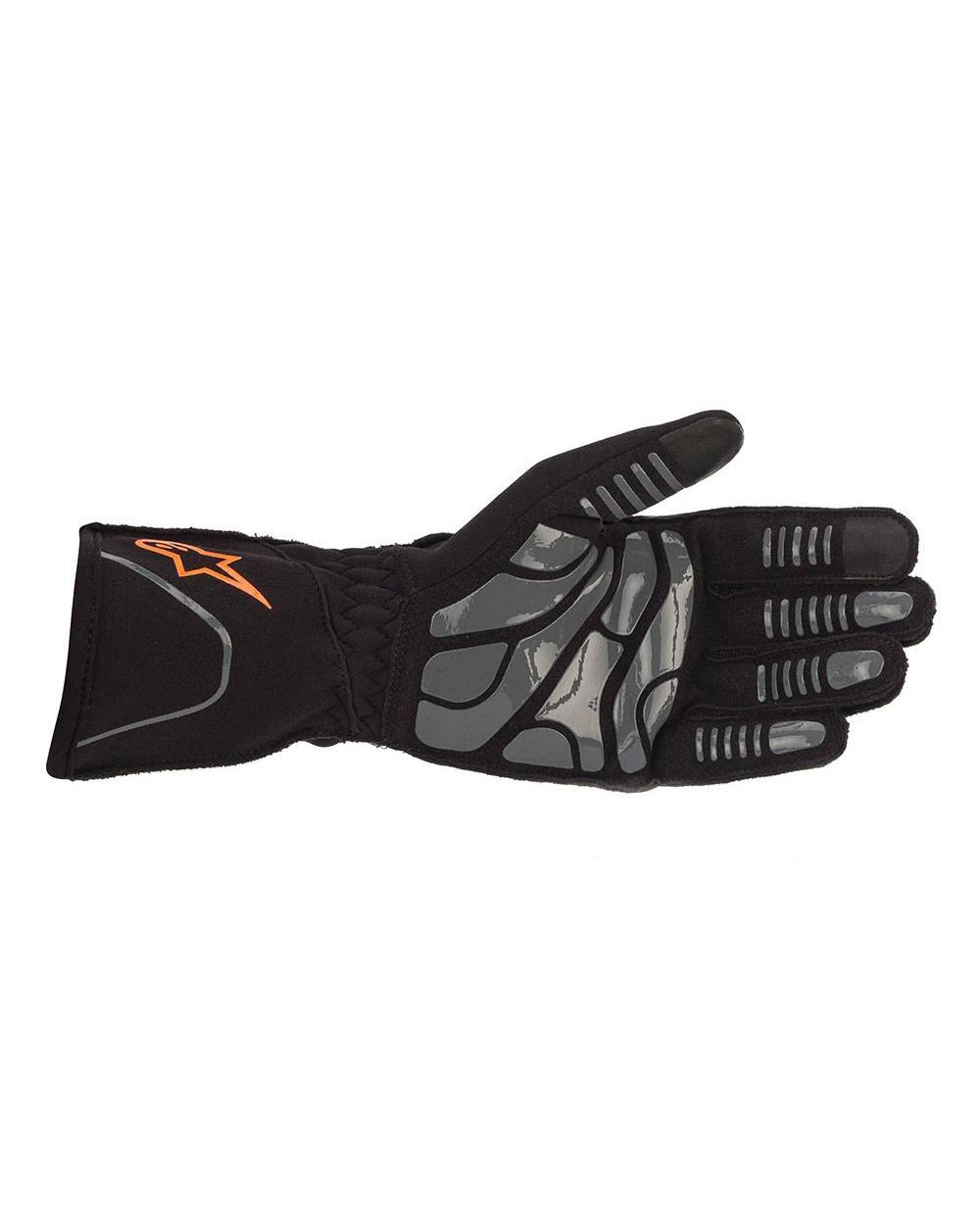 Alpinestars Tech-1KX V2 Noir Orange Fluo