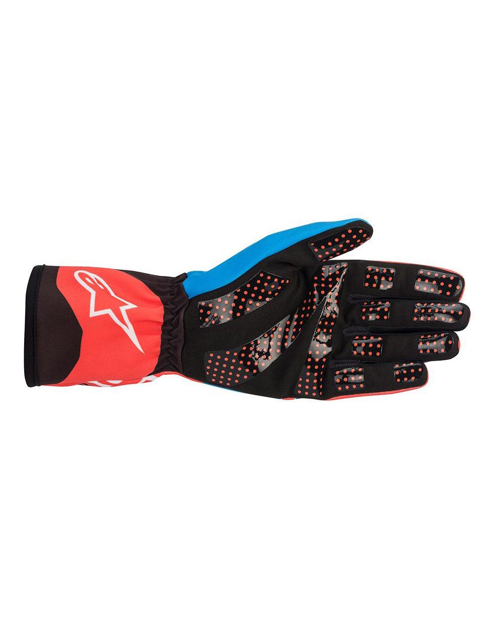 Alpinestars Tech-1K Race V2 Fluo Rood Cobalt Blauw