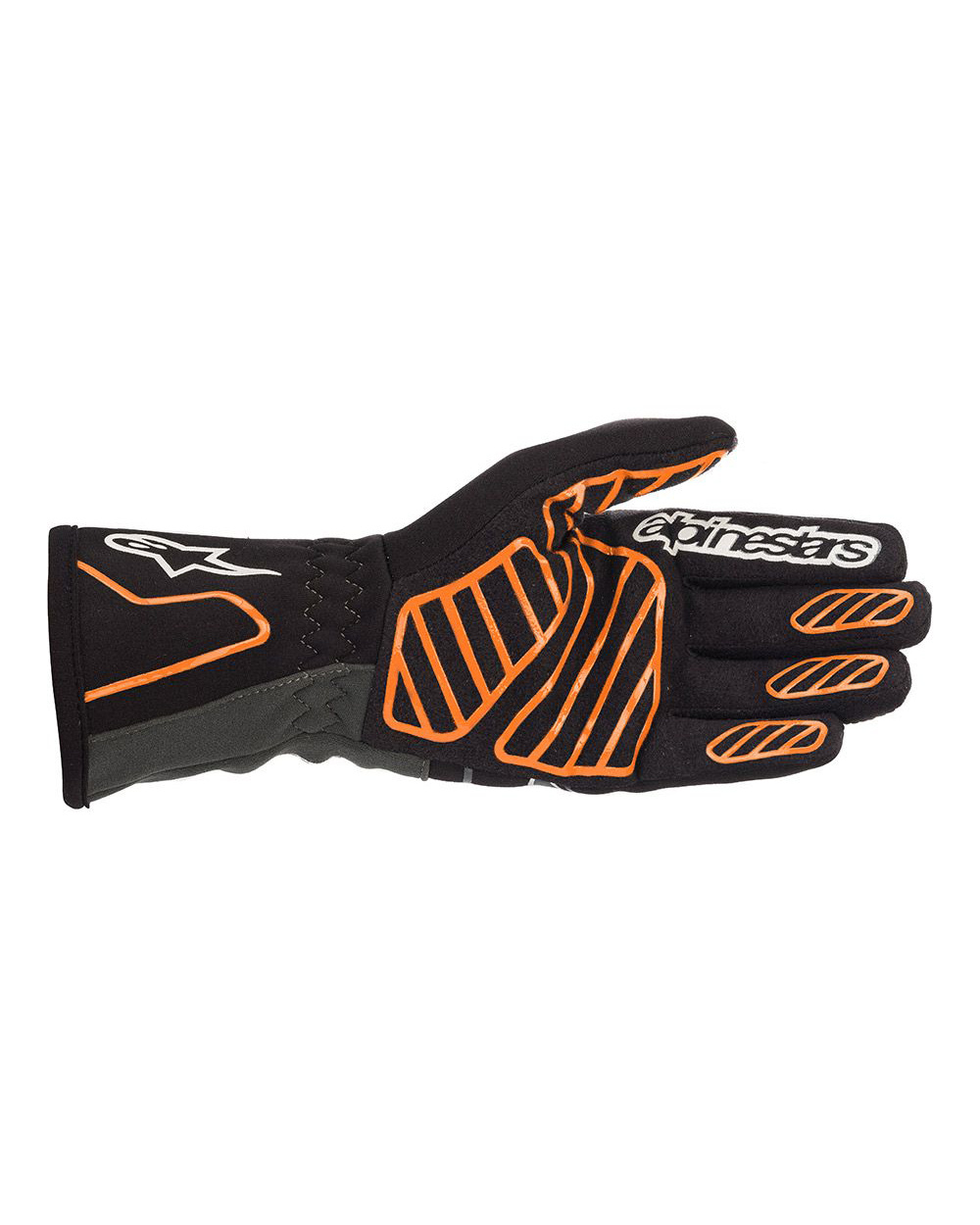 Alpinestars Tech-1K V2 Black Orange Fluo
