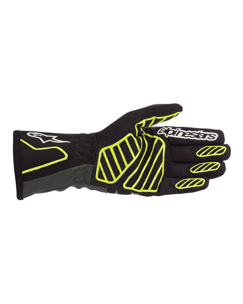 Alpinestars Tech-1K V2 Black Yellow Fluo Anthracite