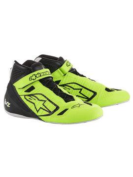 Alpinestars Tech-1 KZ Chaussures Jaune Fluo Noir