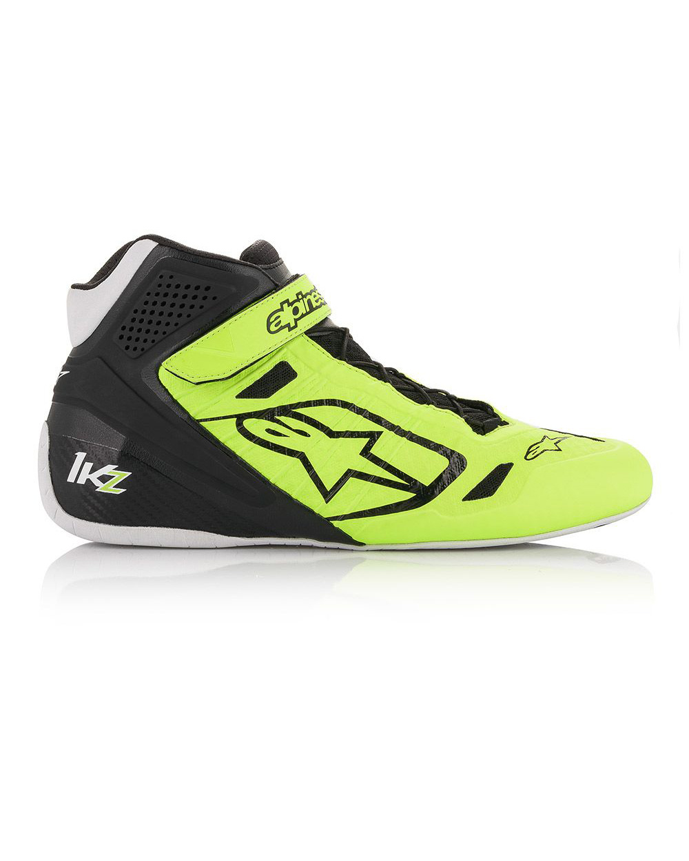 Alpinestars Tech-1 KZ Shoe Yellow Black FLuo
