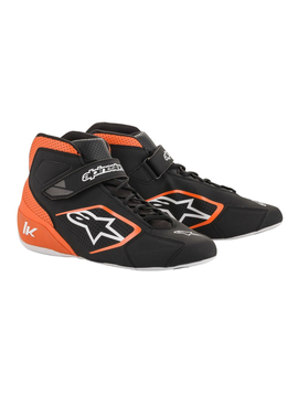 Alpinestars Tech-1 K Shoe Schwarz Orange weiß