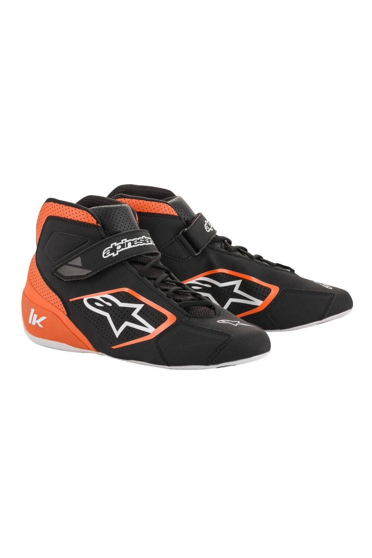 Alpinestars Tech-1 K Shoe Zwart Oranje Wit
