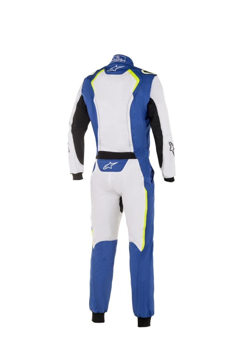 Alpinestars KMX-5 Royal Blauw Wit Geel Fluo