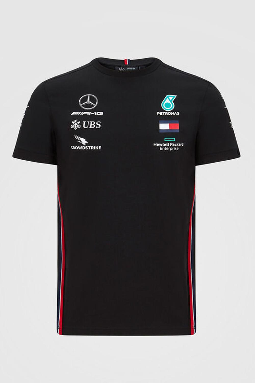 Mercedes Mens Driver Tee 2020 - Zwaart