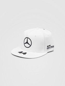 Mercedes Drivers Cap Hamilton (Flat) 2020 - Blanc