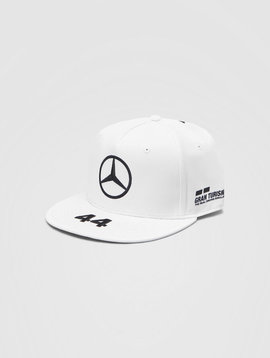 Mercedes Drivers Cap Hamilton (Flat) 2020 - White