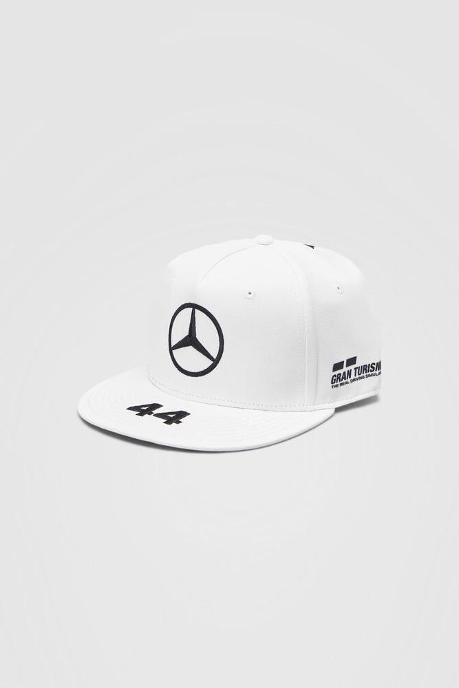 Mercedes Drivers Cap Hamilton (Flat) 2020 - Wit