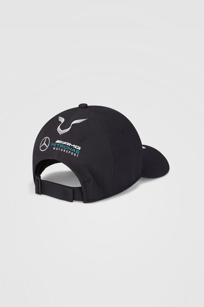 Mercedes Drivers Cap Hamilton (Baseball) 2020 - Schwarz