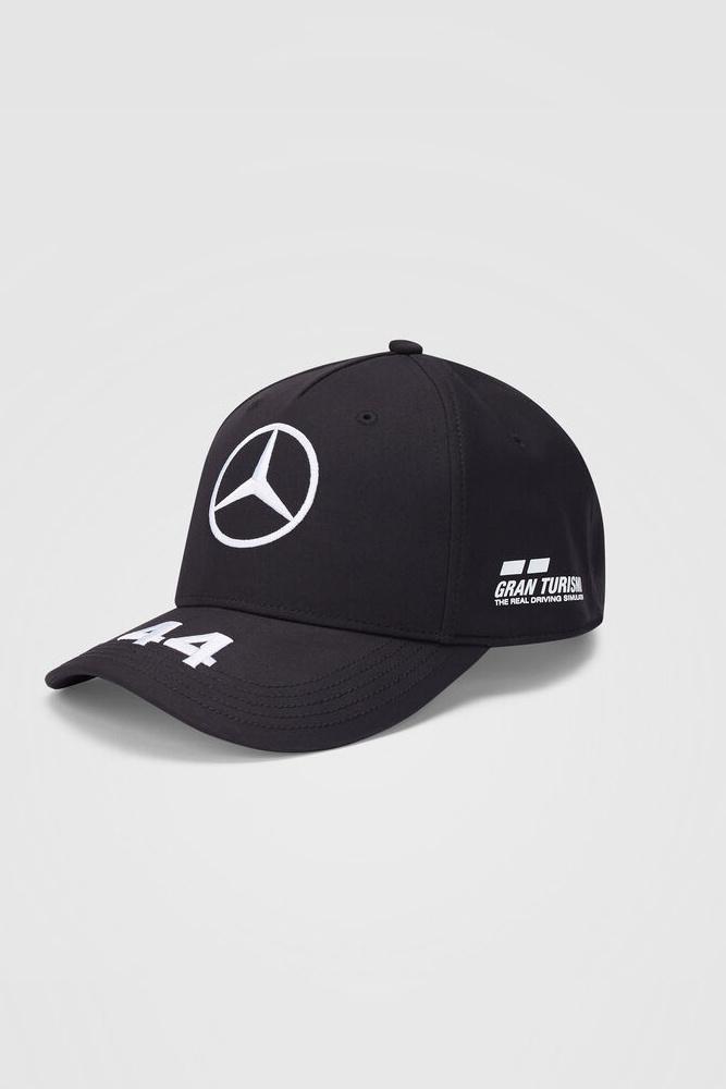 Mercedes Kids Cap Hamilton (Baseball) 2020 - Schwarz