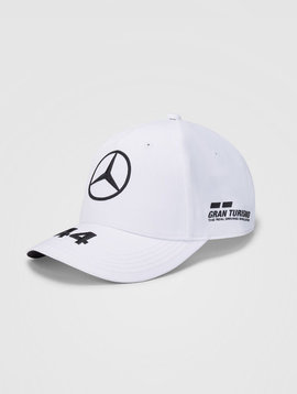Mercedes Kids Cap Hamilton (Baseball) 2020 - Wit