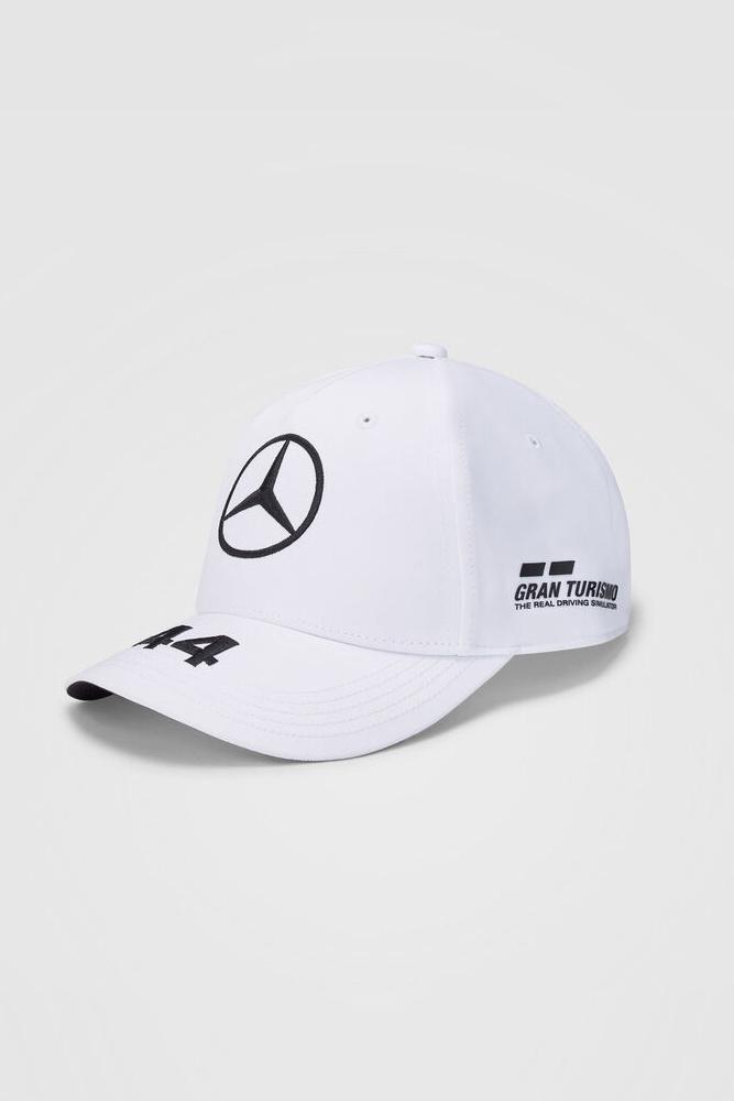 Mercedes Kids Cap Hamilton (Baseball) 2020 - Wit