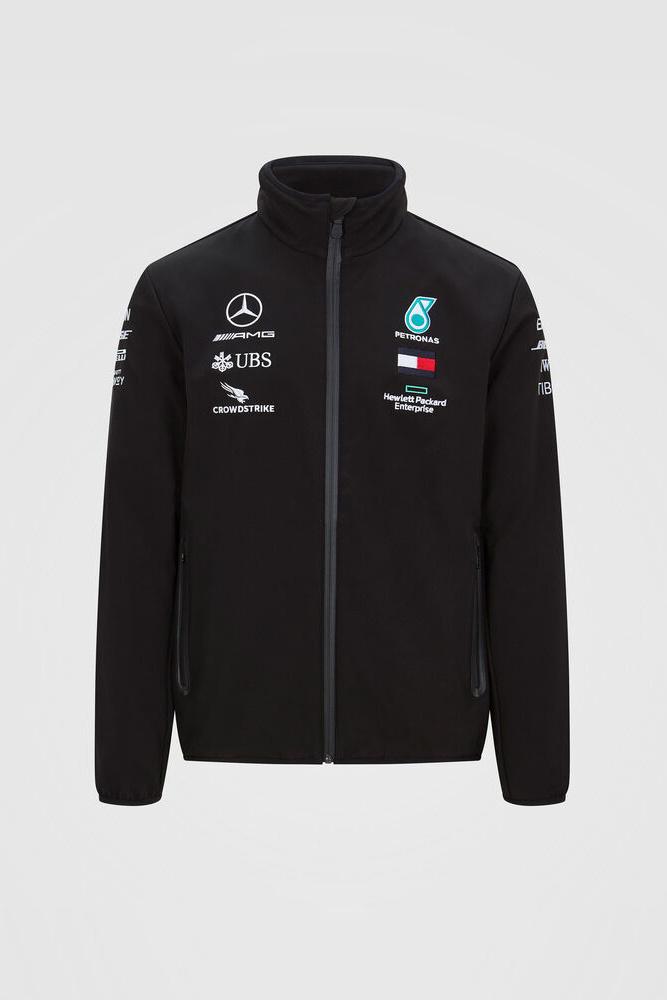 Mercedes Mens Team Softshell Jacket 2020