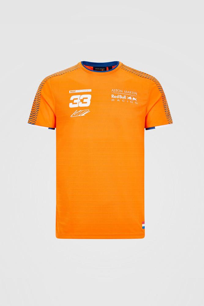 RedBull Mens Verstappen Sportwear 2020 - Orange