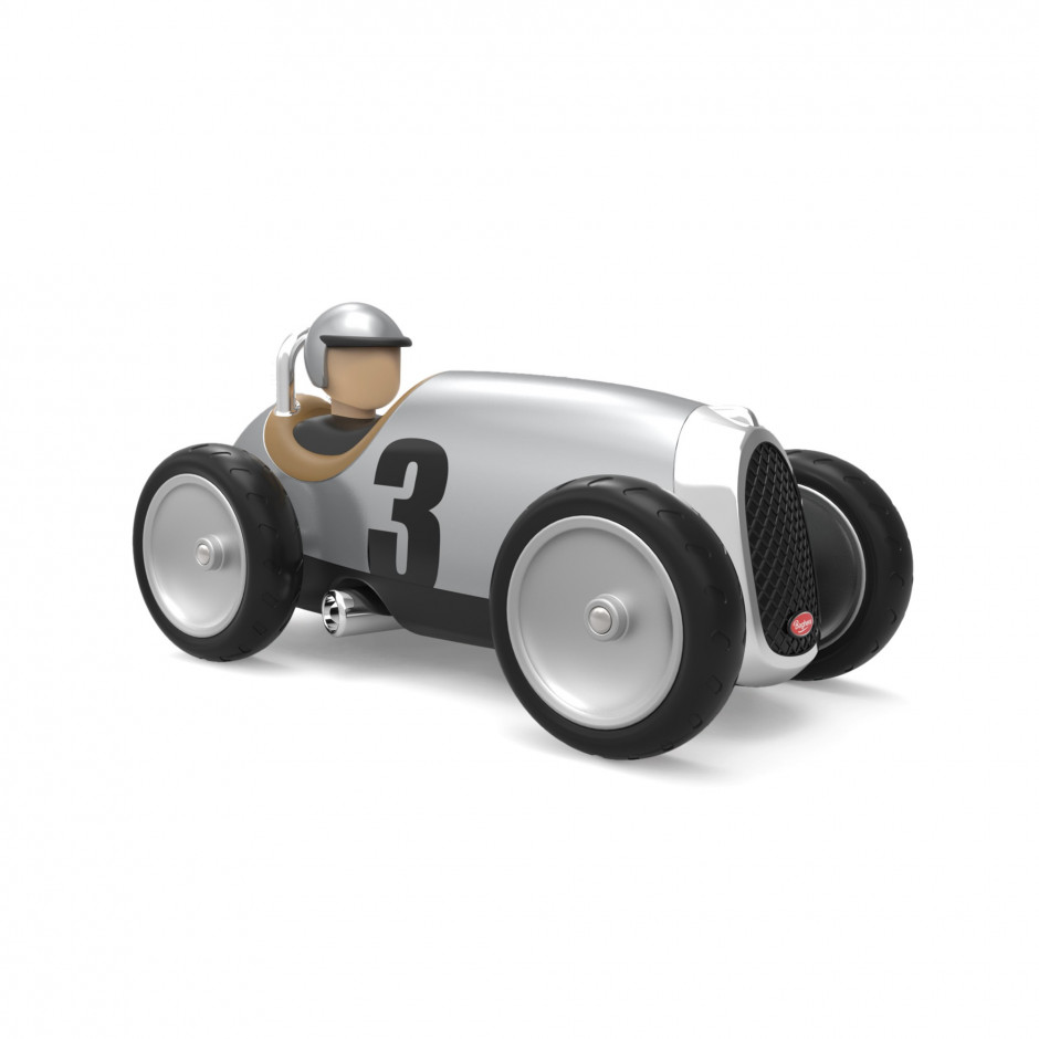 Baghera Racing Car Silver
