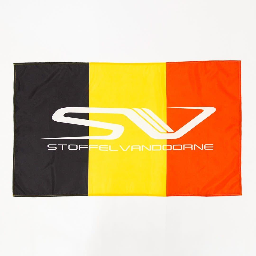 SV Merchandising Drapeau Belge logo Stoffel Vandoorne