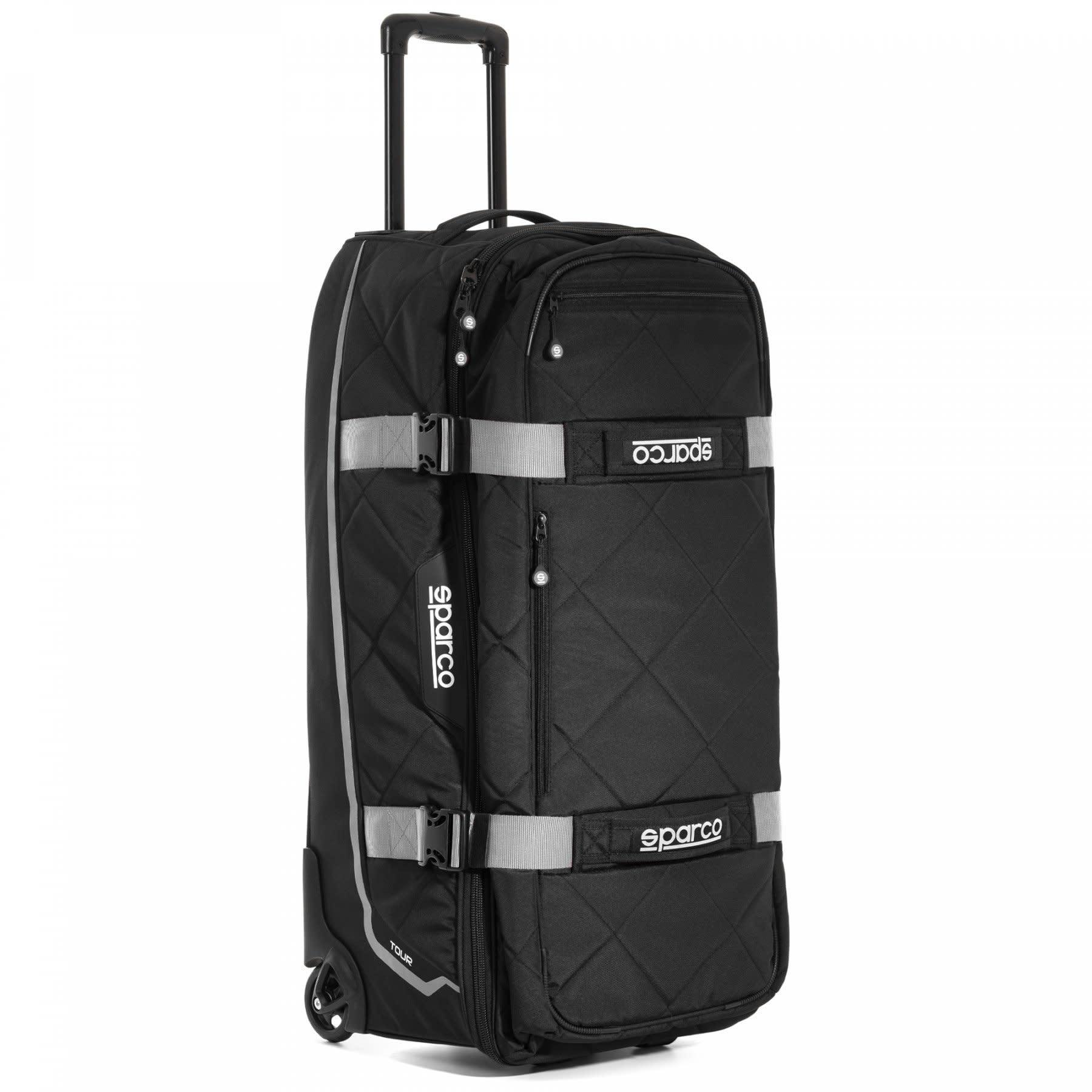 Sparco Tour Trolley bag  Black Silver