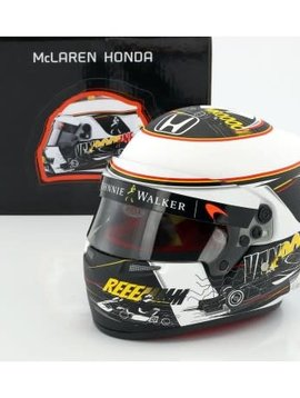 Bell Helmets F1 Replica helm 1:2 Stoffel Vandoorne Spa Edition 2017