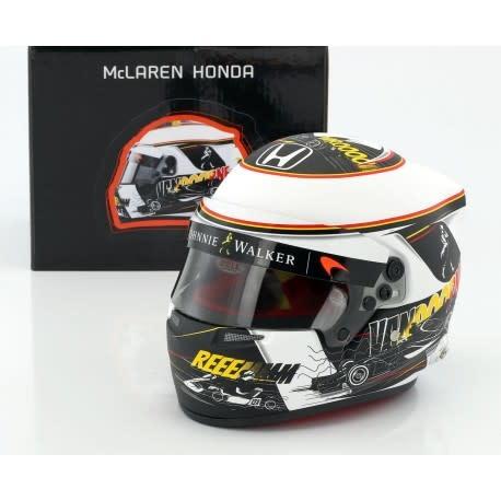 Bell Helmets F1 Replica helme 1:2 Stoffel Vandoorne Spa Edition 2017