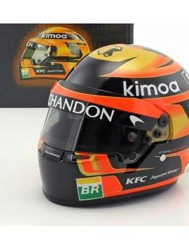 Bell Helmets F1 Replica helme 1:2 Stoffel Vandoorne 2018