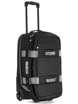 Sparco Travel Soft Cabin size Trolley Noir Argenté
